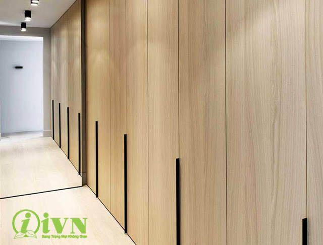 Vách ngăn di động gỗ nhựa PVC iVN