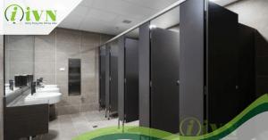 vách ngăn vệ sinh cho nhà hàng iVN