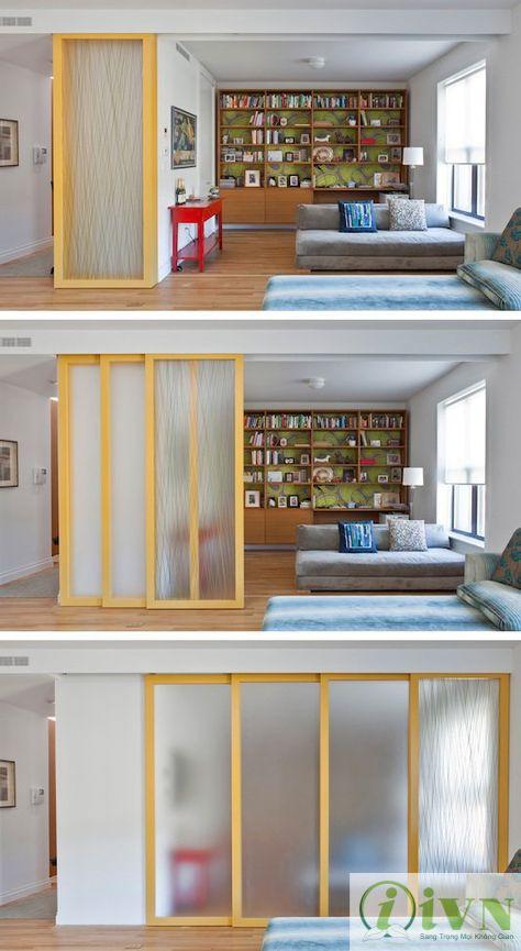 vách ngăn di động cho phòng ngủ