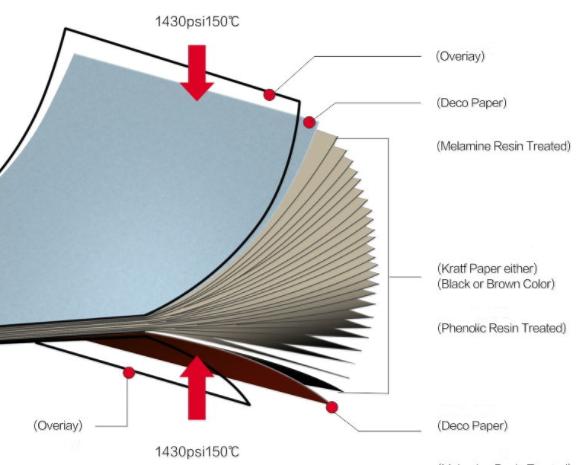 Cấu tạo vách ngăn vệ sinh Compact HPL