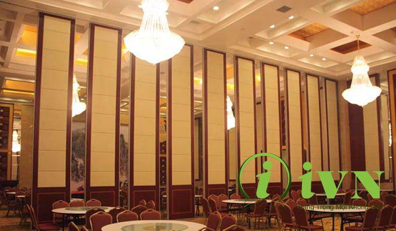 Vách ngăn di động cho nhà hàng, quán ăn (2)