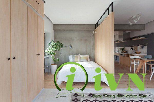 Vách ngăn di động phòng ngủ cho không gian riêng tư (1)