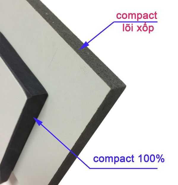 phân biệt tấm vách ngăn vệ sinh kém chất lượng
