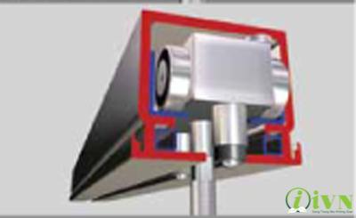 cách chọn ray treo và bi lăn trong thi công vách ngăn phòng di chuyển được (1)