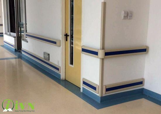 công trình thi công tay vịn hành lang bệnh viện (2)