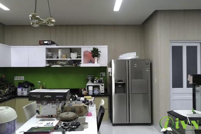 Tấm ốp tường cho phòng bếp