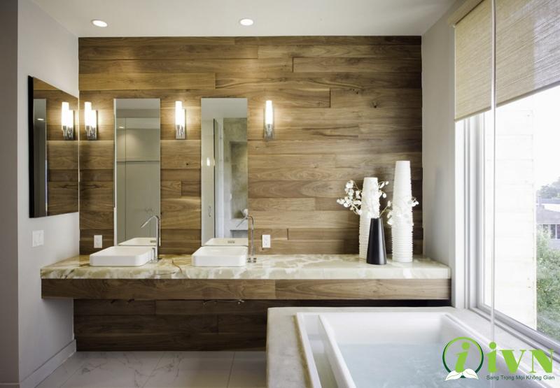 Tấm ốp tường cho phòng tắm