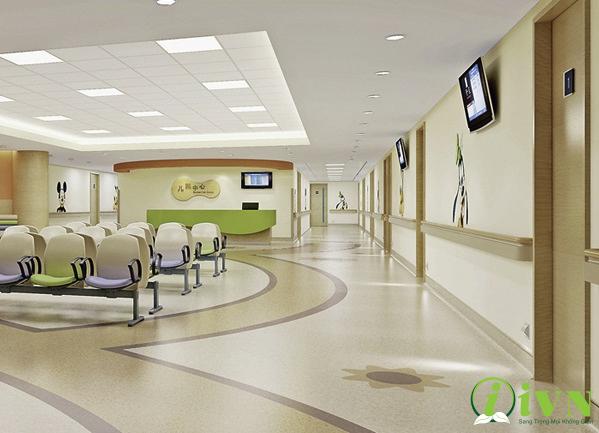 Thiết kế tay vịn bệnh viện đạt chuẩn