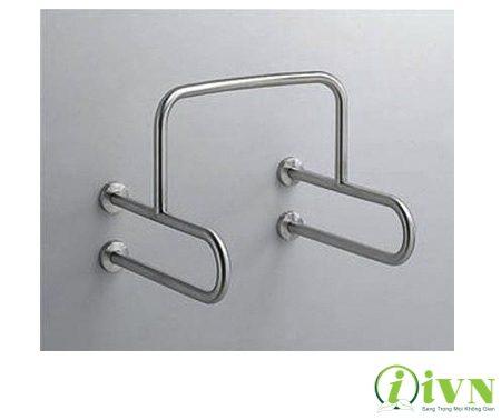 Mẫu tay vịn nhà vệ sinh hình chữ U dành riêng cho tiểu nam