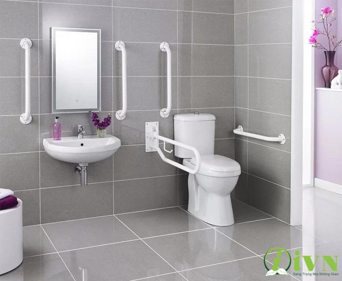 tay vịn phòng tắm cho người già