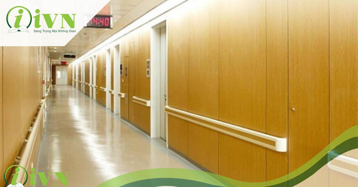 các mẫu tay vịn hành lang bệnh viện đẹp