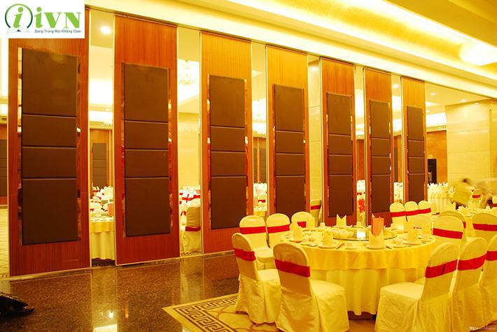 vách ngăn di động nỉ nhà hàng tiệc cưới (3)
